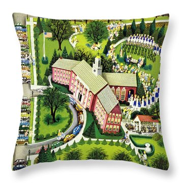New Yorker June 15th 1946 Throw Pillow