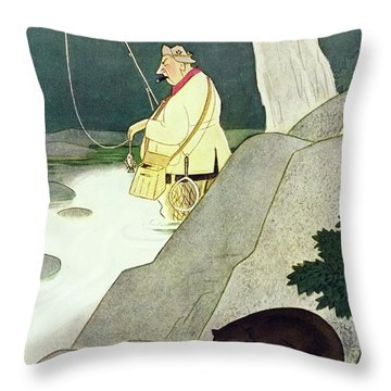 New Yorker June 21st 1947 Throw Pillow