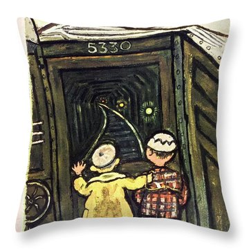 New Yorker March 22nd 1947 Throw Pillow