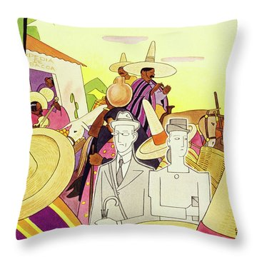 New Yorker March 9th 1946 Throw Pillow