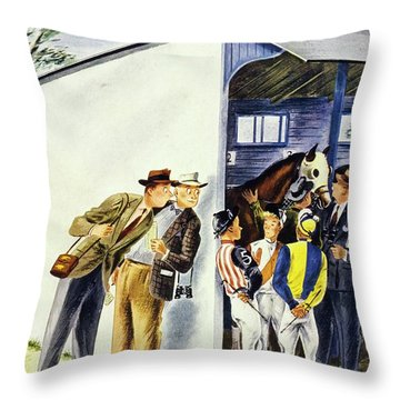 New Yorker May 31st 1947 Throw Pillow