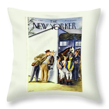 New Yorker May 31, 1947 Throw Pillow