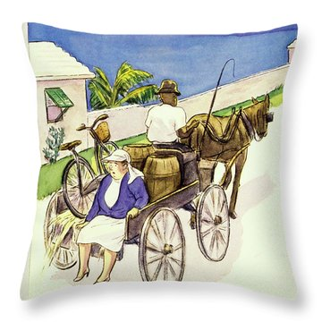 New Yorker May 4th 1946 Throw Pillow