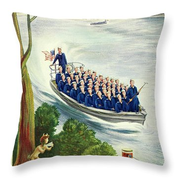 New Yorker May 9th 1942 Throw Pillow