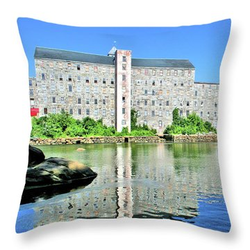Newmarket New Hampshire Throw Pillow