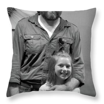 Nicholai And Harper Throw Pillow