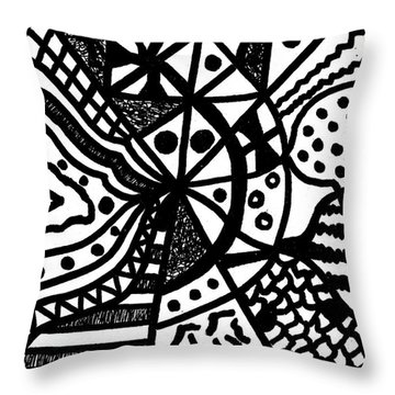 Night And Day 10 Throw Pillow