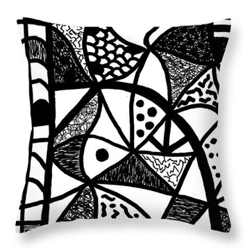 Night And Day 16 Throw Pillow