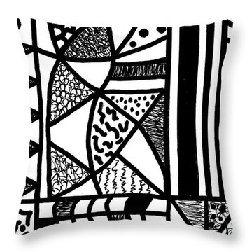 Night And Day 17 Throw Pillow