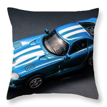 Night Drives Throw Pillow
