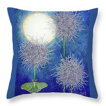 Night Garden 2 Throw Pillow