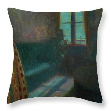 Night In Saint-cloud - Digital Remastered Edition Throw Pillow