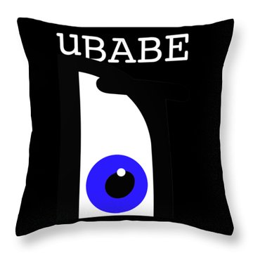 Night Of The Babe Throw Pillow