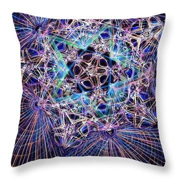 Night Star Throw Pillow