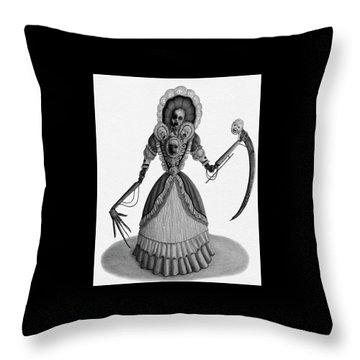 Nightmare Dolly - Artwork Throw Pillow