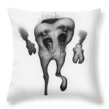 Nightmare Strider - Artwork Throw Pillow