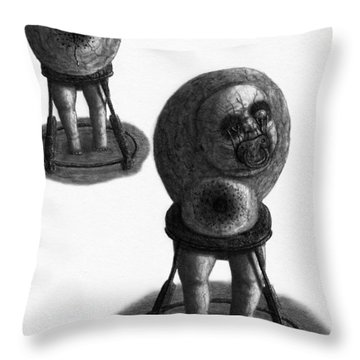 Nightmare Walker - Artwork Throw Pillow