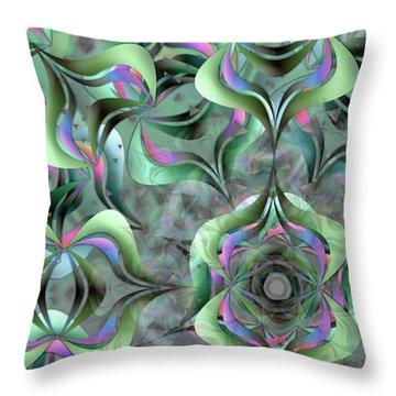 Nimb Difficult Remix One Throw Pillow