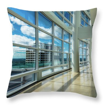 Throw Pillow featuring the photograph Nm Tower View by Randy Scherkenbach