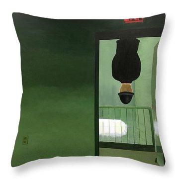 No Exit Throw Pillow