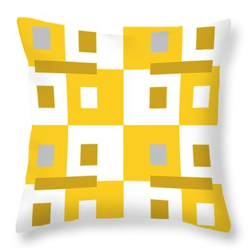 No Thinking II Throw Pillow