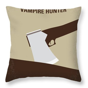 No1009 My Abraham Lincoln Vampire Hunter Minimal Movie Poster Throw Pillow