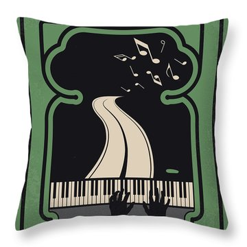 No1039 My Green Book Minimal Movie Poster Throw Pillow