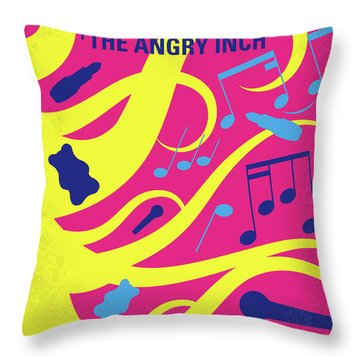 No1046 My Hedwig And The Angry Inch Minimal Movie Poster Throw Pillow