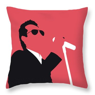 No292 My Marc Anthony Minimal Music Poster Throw Pillow