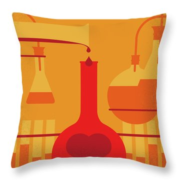 No976 My The Nutty Professor Minimal Movie Poster Throw Pillow