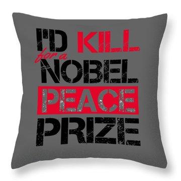 Nobel Prize Throw Pillow