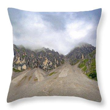 Nordkette Throw Pillow