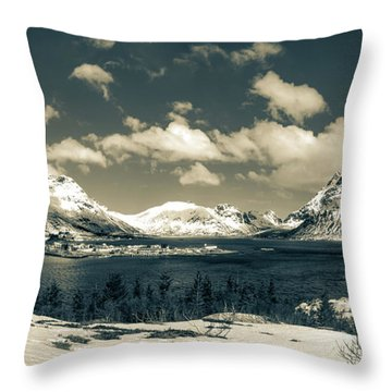 Nordland Throw Pillow