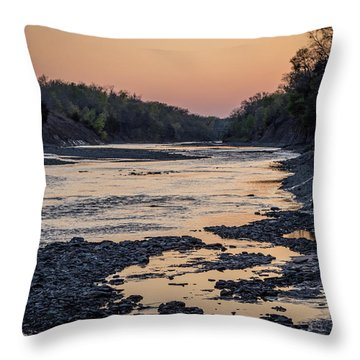 North Sulphur Throw Pillow