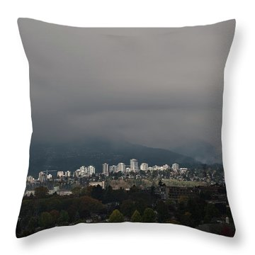 North Vancouver Throw Pillow