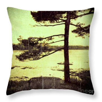 Northern Pine Throw Pillow