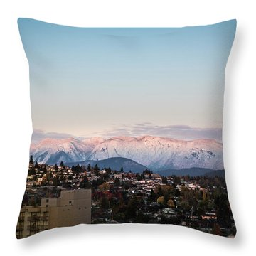 Northshore Winterscape Throw Pillow