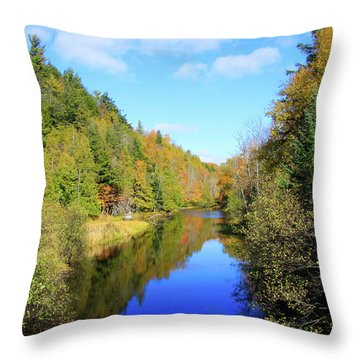 Northwoods Reflection Throw Pillow