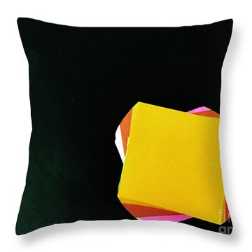 Note Worthy Throw Pillow