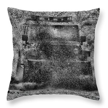 Nothing Like A Jeep Throw Pillow