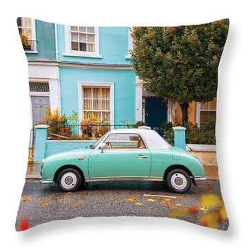 Notting Hill Vibes Throw Pillow