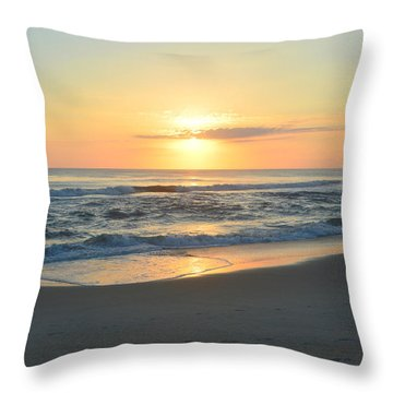 Throw Pillow featuring the photograph November 3, 2018 by Barbara Ann Bell