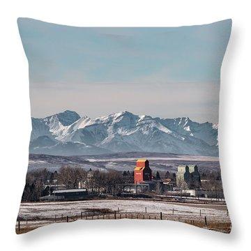 November Nanton Throw Pillow