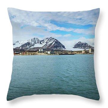 Ny Alesund Throw Pillow
