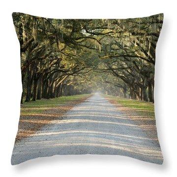 Oak Avenue Throw Pillow