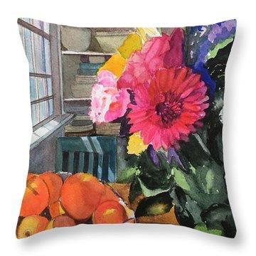 Oak Bluffs Kitchen Throw Pillow