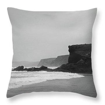 Ocean Memories II Throw Pillow