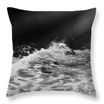 Ocean Memories Iv Throw Pillow