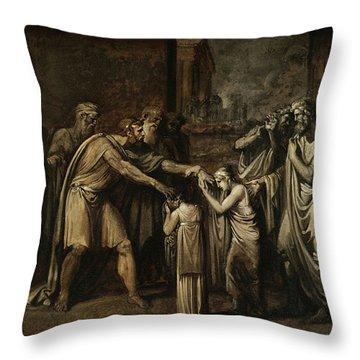 Oedipus At Colonus Throw Pillow