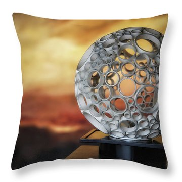 Of All Certainty Except  Throw Pillow